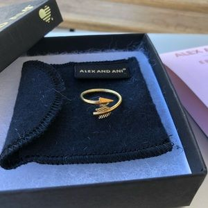 Eros Arrow Ring by Alex and Ani